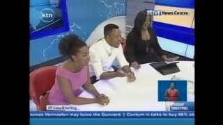 KTN Friday Briefing with Guest Anchors Elani