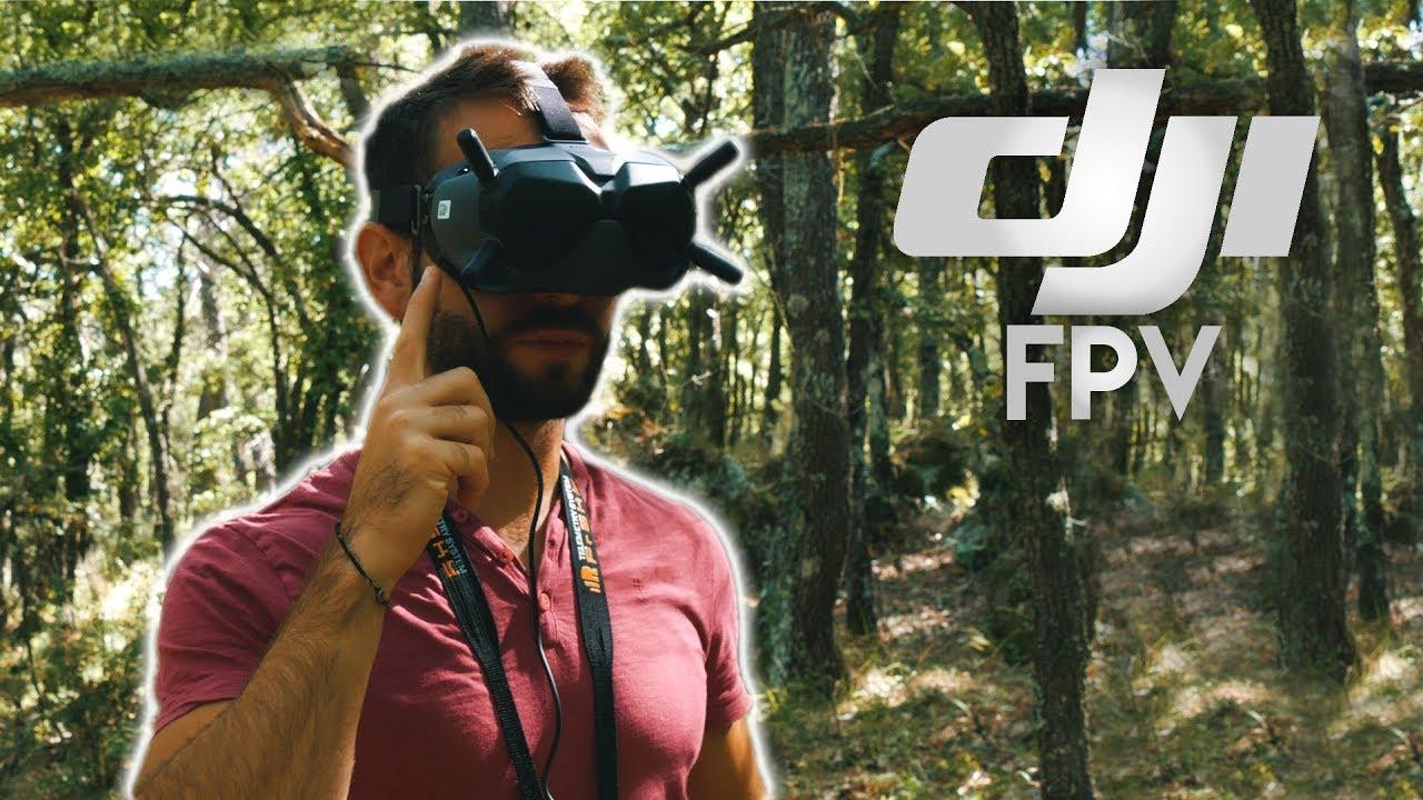 Download TEST du DJI FPV système ! Essai en pleine forêt !