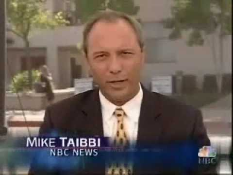 June 13 2005 in the Michael Jackson Trial: Mike Taibbi abt the verdict