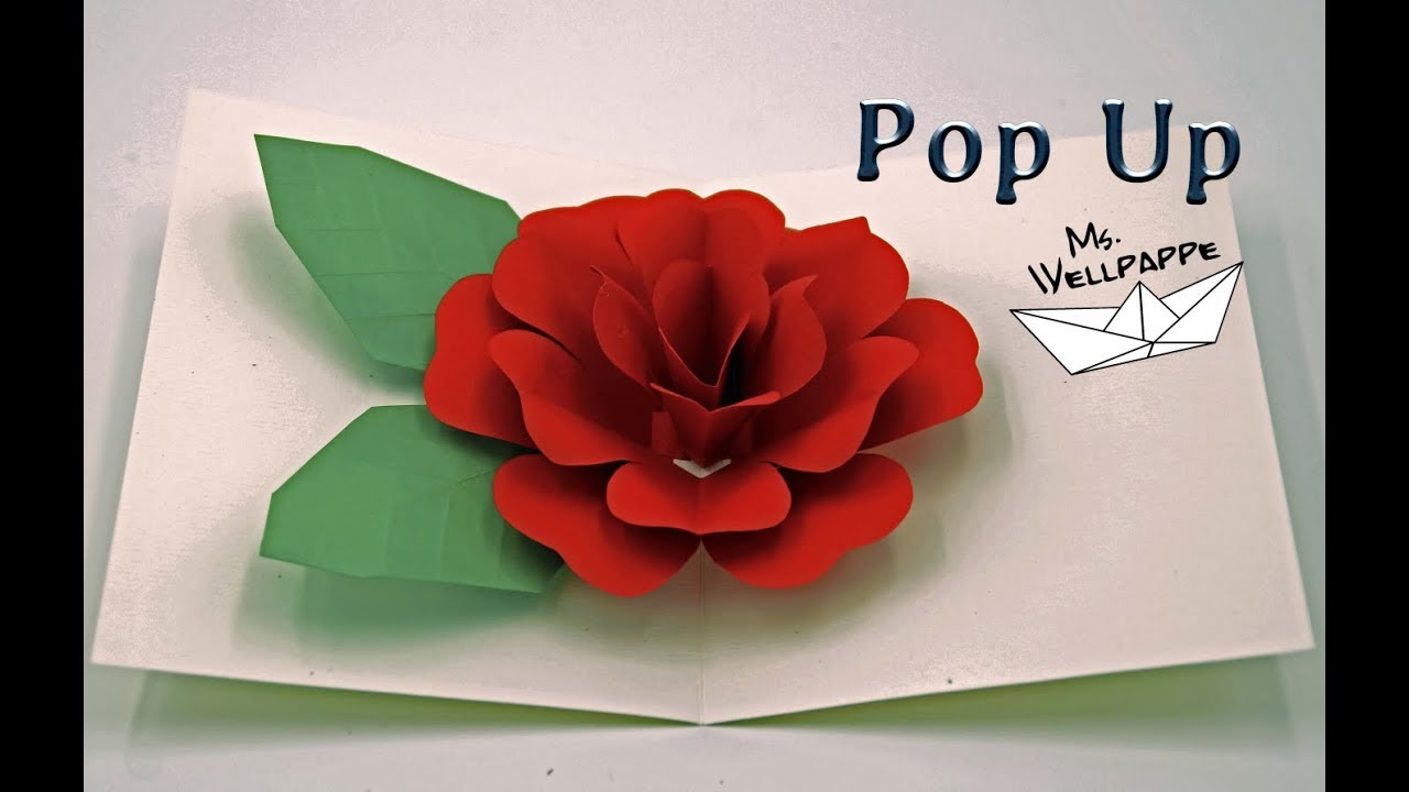 How To Make A Easy Pop Up Card