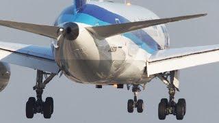 BOEING 787 Landing in 4K