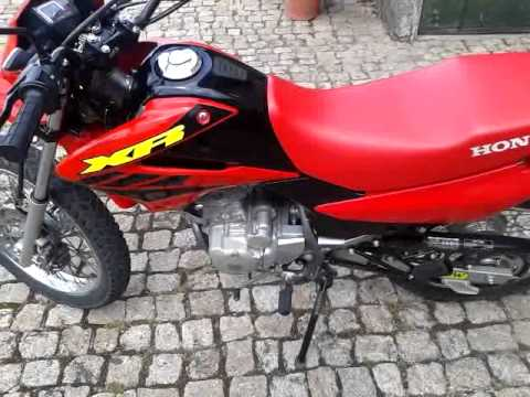honda xr 125 l arrow exhaust youtube. Black Bedroom Furniture Sets. Home Design Ideas