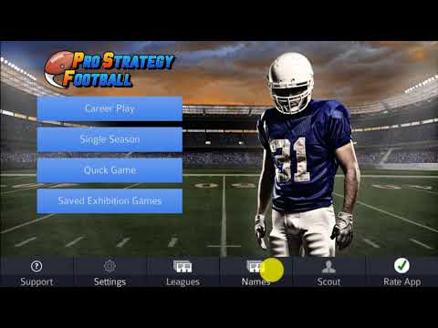 pro strategy football 2018