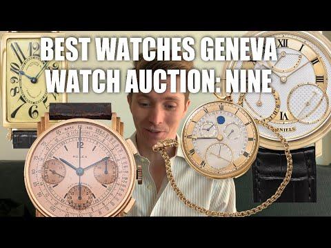 5 Best Lots Of Phillips Geneva Watch Auction: Nine, AP, Rolex, JLC, Patek Philippe