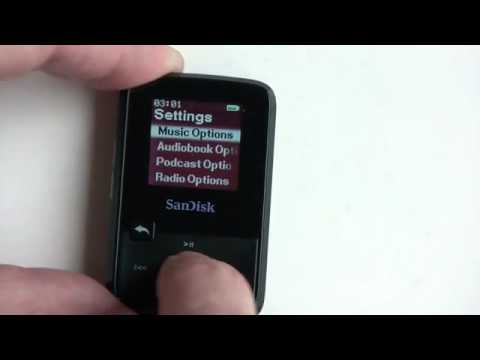 how to make a playlist on sansa mp3 player