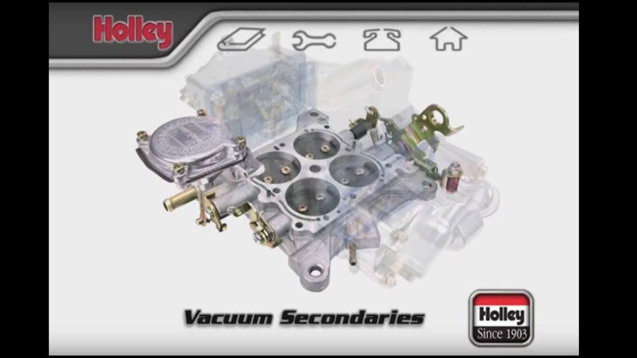 how to adjust holley carburetor vacuum secondary springs [ 1280 x 720 Pixel ]