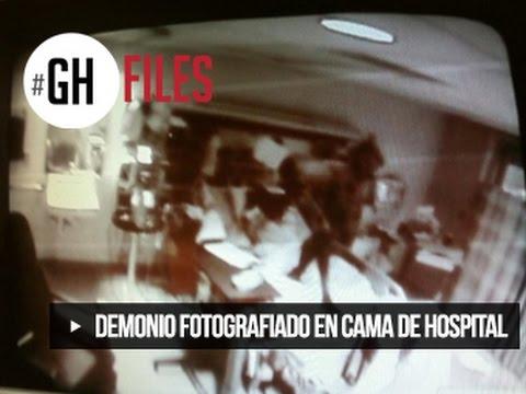 DEMONIO FOTOGRAFIADO EN LA CAMA DE UN HOSPITAL #GHFILES