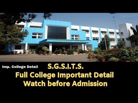 Sgsits Review important Information before seat allotment letter Mponline DTE counseling 2019