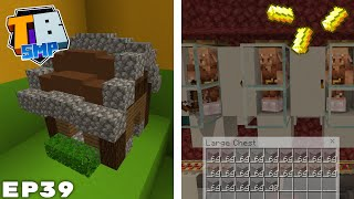 Piglin Barter Farm, Wither & Tiny House - Truly Bedrock Season 2 Minecraft SMP Episode 39