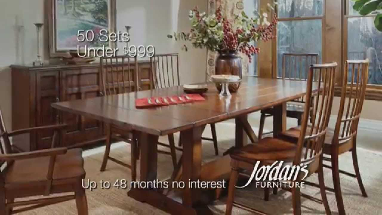 Delightful Dining Room Sets Under $999 For Sale At Jordanu0027s Furniture Stores   YouTube Part 3