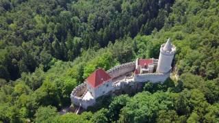 Kokořín castle (hrad kokořín) is a located some 10 km (6 mi) northeast of mělník, czech republic. it was built in the first half 14th century b...