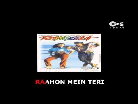 Tanha Tanha - Bollywood Sing Along - Rangeela - Jackie Shroff & Urmila Matondkar