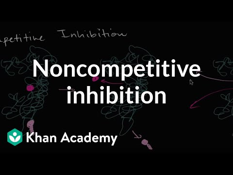 Noncompetitive inhibition | Energy and enzymes | Biology | Khan Academy