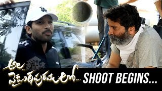 Telugutimes.net AA19 Shoot Begins