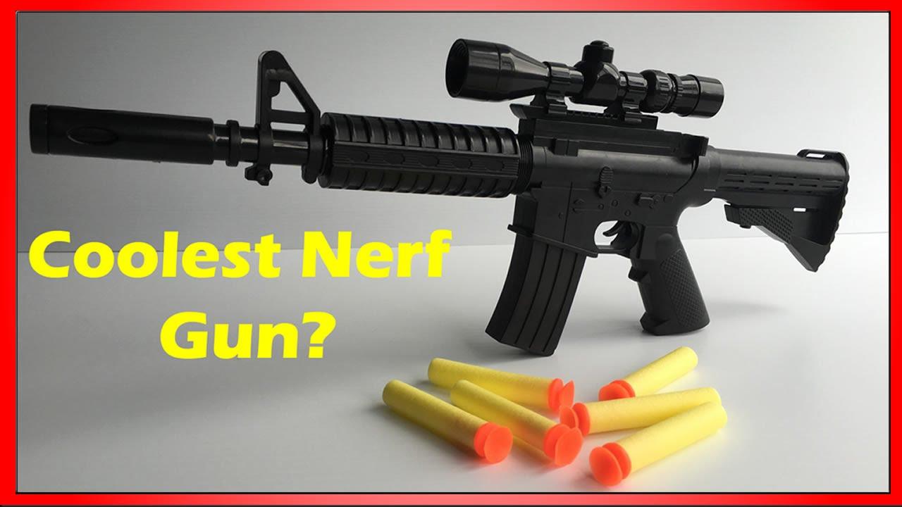 Replica M4A1 Nerf Dart Gun - Mini 1:3 Scale -the most awesome Nerf Gun?