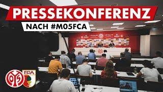 Pressekonferenz nach Augsburg | #M05FCA | 05er.tv