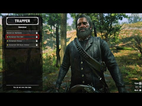Red Dead Redemption 2 All Secret Outfits Hunting Clothes