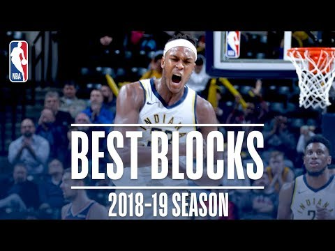 Myles Turners Best Blocks | 2018-19 Season | #NBABlockWeek