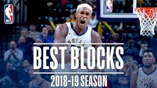 Myles Turner's Best Blocks | 2018-19 Season | #NBABlockWeek