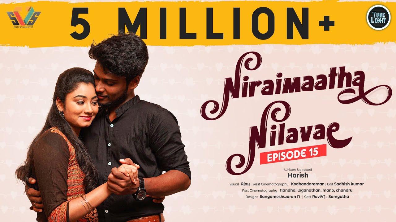 Download Niraimaatha Nilavae Episode 15 | Tube Light Attagasangal | Pregnancy Sothanaigal | Caring Husband