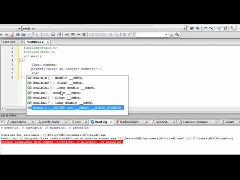 C programming tutorial to find cubic root