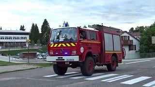 [POMPIERS] Départ VSAV+FPTHR LES ROUSSES  / Firefighters responding -SDIS 39