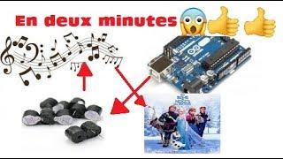 Comment faire la musique de la reine des neiges avec trois composent arduino en 2 minutes