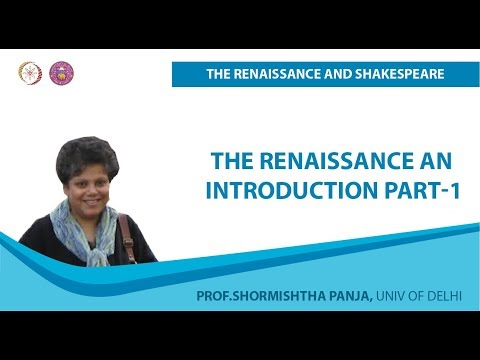 The Renaissance An Introduction Part-1 Mp3