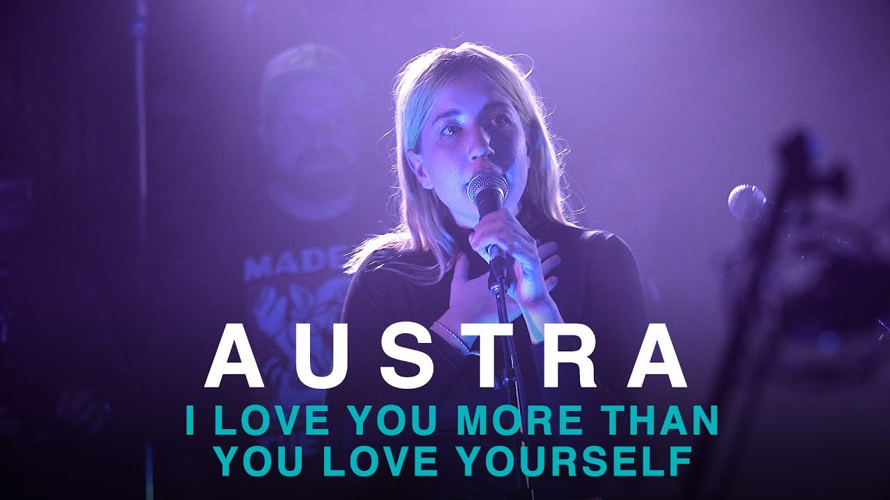 Austra i love you more than you love yourself first play live austra i love you more than you love yourself first play live youtube thecheapjerseys Gallery