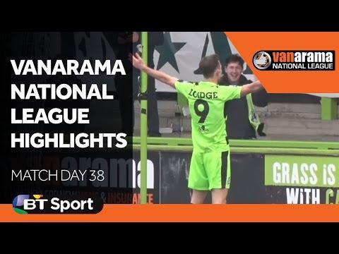 Vanarama National League Highlights Show - Match Day 38