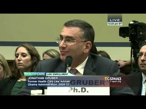 Rep. Trey Gowdy questions Jonathan Gruber (C-SPAN)