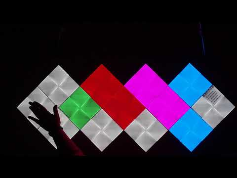Nanoleaf Canvas - Interactive game Memory