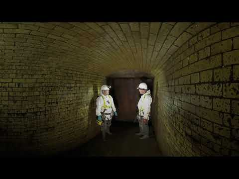 Explore London's sewer network in 360