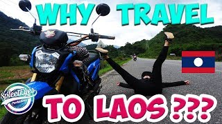 WHY TRAVEL TO LAOS ??? - TRAVEL WITH SPLEETEYES  - video