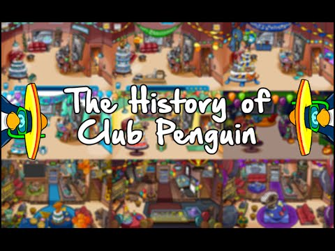 The History of Club Penguin