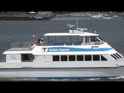 MBTA Harbor Express Boat (6/2/11)