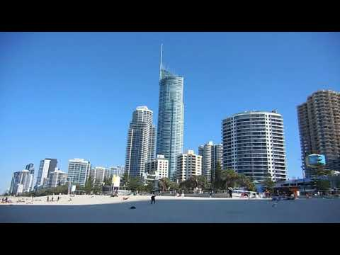 Riding The Light Rail In Gold Coast, Australia To Surfer's Paradise And Chinatown