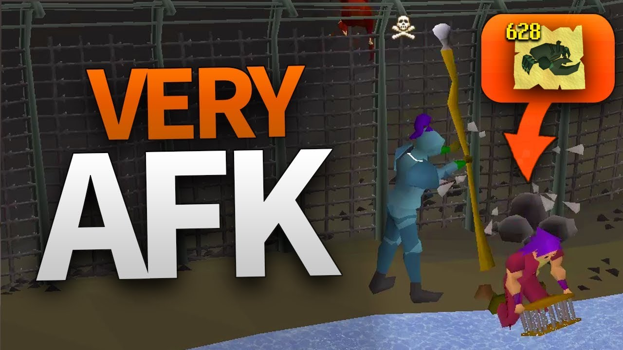 OSRS: Most AFK Training Methods 2019