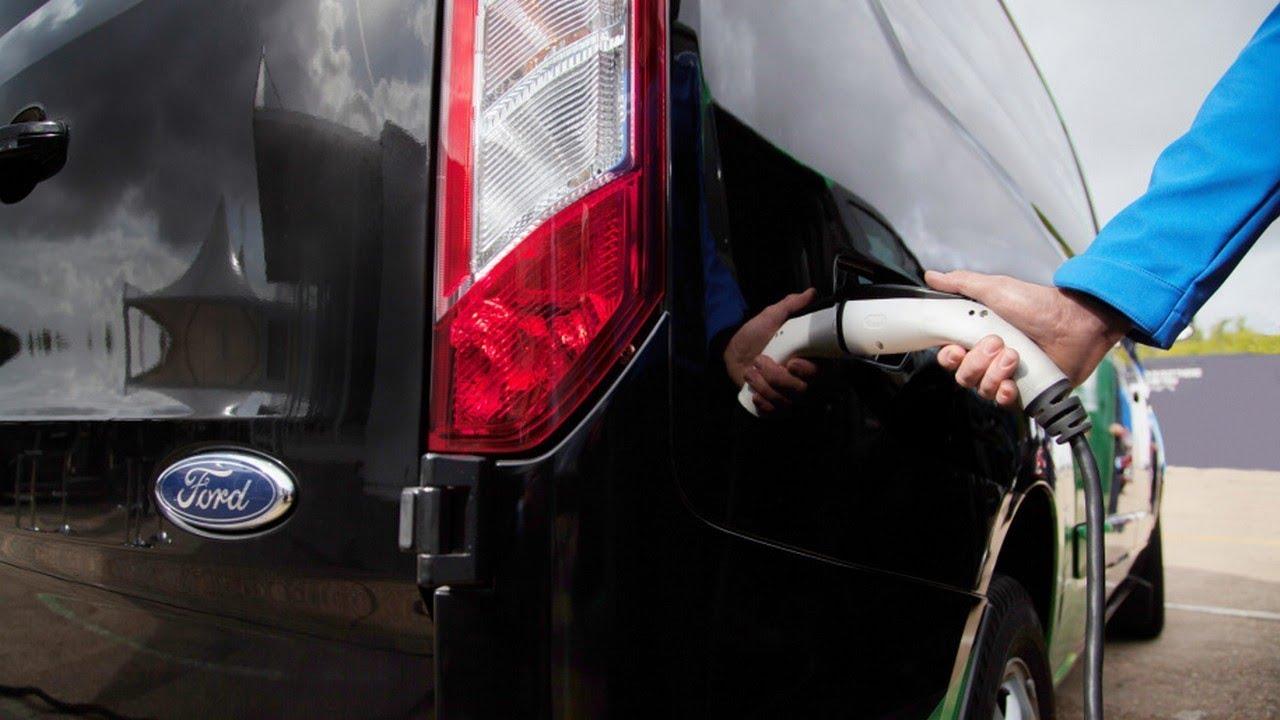 Ford Transit Plug In Hybrid Van Testing U K