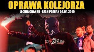 OPRAWA KOLEJORZA: Lechia Gdańsk - Lech Poznań 06.04.2019