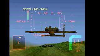 Eagle One Harrier Attack PSX - Parte 6 -  A10 Attack