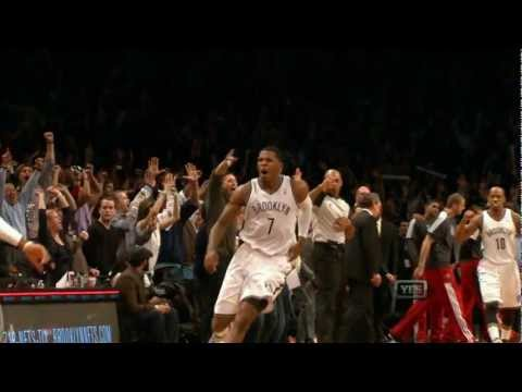 Joe Johnson sends the game to overtime then hits a buzzer beater to win the game for the Nets