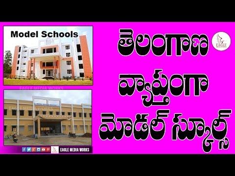 తెలంగాణ వ్యాప్తంగా మోడల్ స్కూల్  Free Education In Telangana Model School    Eagle Media Works