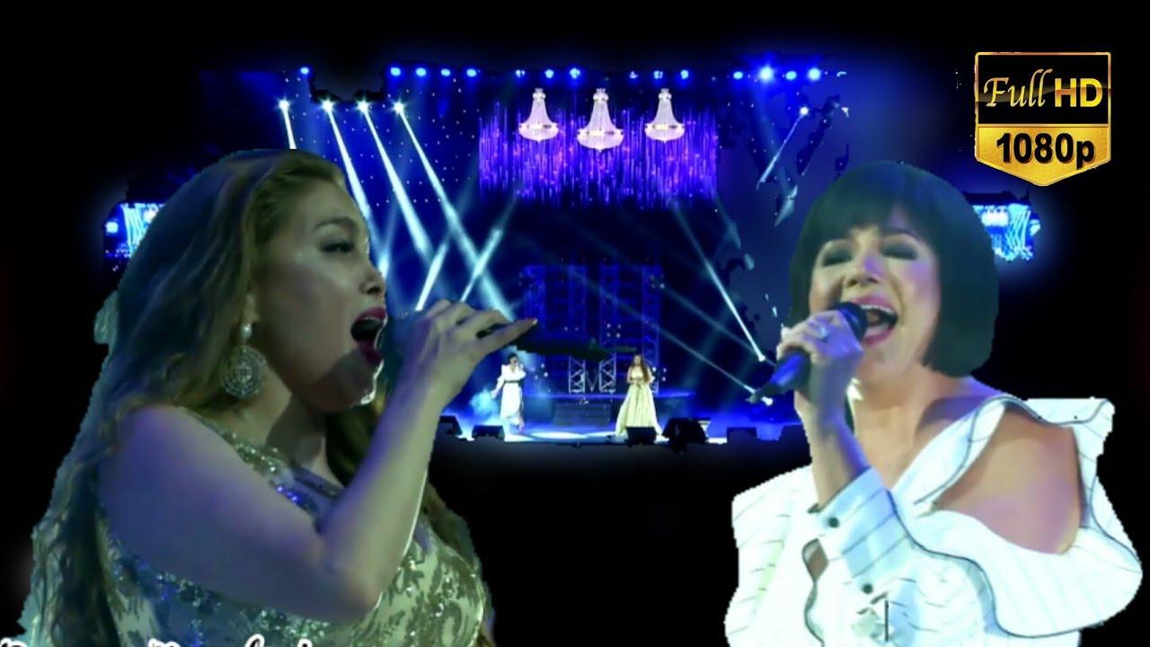 (18K Concert) K Brosas and Regine Velasquez Sings Habang may Buhay