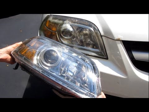Acura MDX – Full Headlight Assembly Replacement