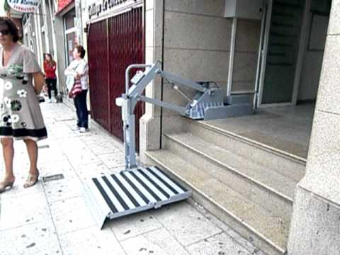 Elevadores Para Discapacitados Monobrazo Youtube