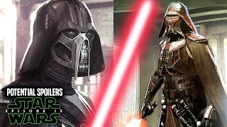 Star Wars Episode 9 Kylo Ren's NEW Mask! Potential Spoilers & More