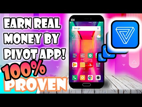 Earn real money from Pivot App 🔥 with 100% Prof !!!