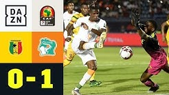 Wilfried Zaha schießt Ivorer ins Viertelfinale: Mali - Elfenbeinküste 0:1 | Afrika Cup | DAZN