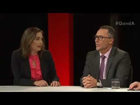Richard Di Natale given brutal truth by Terri Butler on leaders' debate
